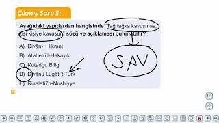 Eğitim Vadisi AYT Edebiyat 6.Föy Geçiş Dönemi Türk Edebiyatı Konu Anlatım Videoları