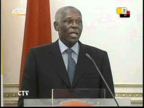 Visite au Président de la République d'Angola