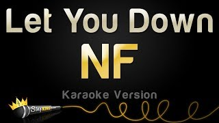 NF   Let You Down (Karaoke Version)