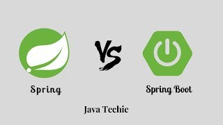 Spring Vs Spring Boot - Difference   Example   Java Techie