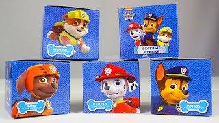 Сюрпризы ЩЕНЯЧИЙ ПАТРУЛЬ Новые игрушки для детей Мультики Paw Patrol Surprise toys