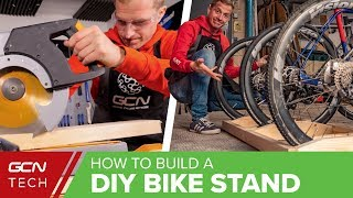 How To Build A Bike Stand | Easy DIY Road Bike Storage