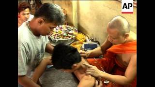 The Tattoo Art Of Thailands Buddhist Monks