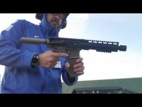 Range test: Endomag/CMMG 9mm Banshee Upper/Spike's Cal Multi