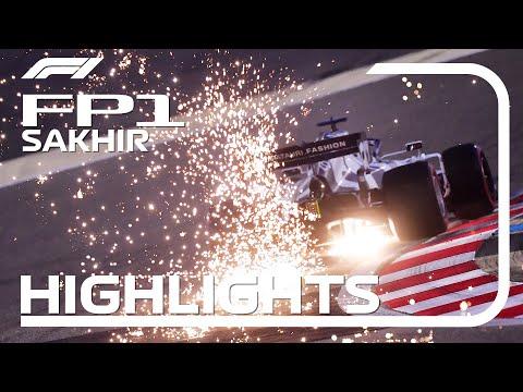 F1 第16戦サクヒール FP1の様子をまとめたハイライト動画