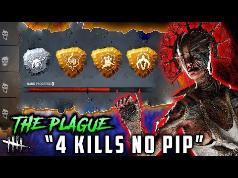4 KILLS NO PIP! Rank up DISASTER! The Plague Dead by Daylight