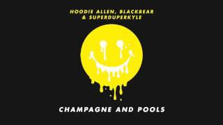 """Video thumbnail of """"Hoodie Allen - """"Champagne and Pools"""" (feat. Blackbear and KYLE)"""""""