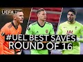HENDERSON, LENO, RUI SILVA: #UEL BEST SAVES, Round of 16