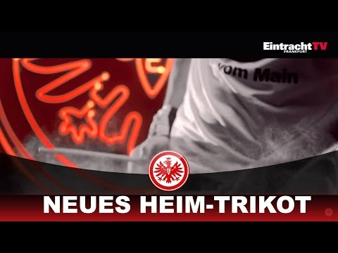 Zuhause in Schwarz und Rot, das neue Eintracht Frankfurt Trikot