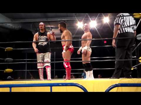 Clutch Adams vs Lance Anoa'i vs Jon Gresham: 12/25/15 Lancaster Championship Wrestling
