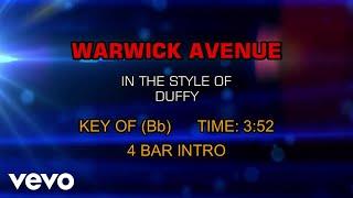 Duffy - Warwick Avenue (Karaoke)