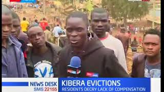 Kibera demolitions are expected to end as residents pave way for bulldozers