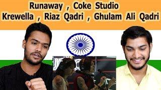 Indian reaction on Runaway Coke Studio | Krewella Riaz Qadri & Ghulam Ali Qadri| Swaggy d