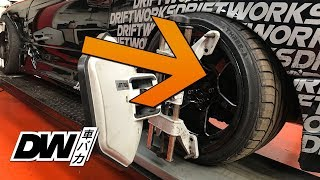 How to align a drift car (Nissan Silvia, S13, S14, S15, PS13)