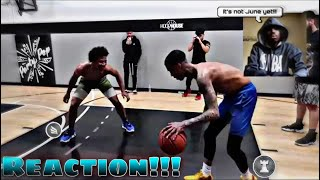 This Looks Scary 😶🏀🔥 | Reacting to FlightReacts VS Mikey Williams