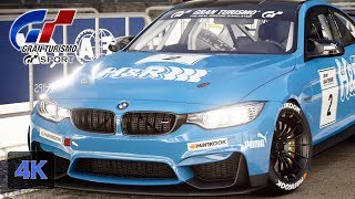 Gran Turismo Sport Onboard [4K] Crazy Online Battle from P11 to P6 - BMW M4 Daily Race