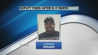 South Texas deputy fired after police dog dies in hot car