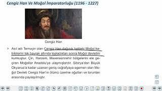 Eğitim Vadisi TYT Tarih 7.Föy Türklerin İslamiyeti Kabulü 2 Konu Anlatım Videoları