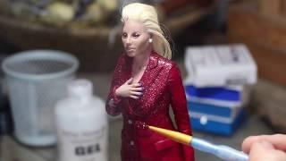 Sculpting Lady Gaga