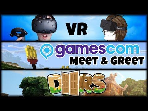 GamesCom Meet & Greet | Minecraft DOORS Map | Projekte mit GLP