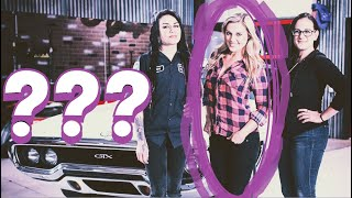 Wait a minute.... where is CRISTY LEE on All Girls Garage?!?!