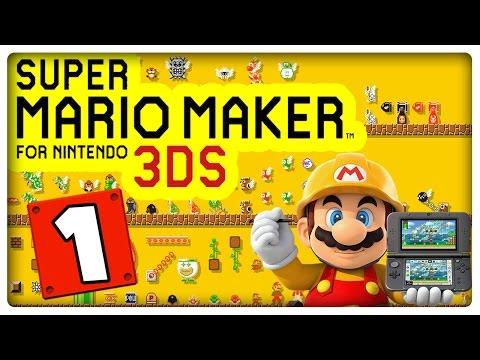 SUPER MARIO MAKER 3DS Part 1: Super-Mario-Herausforderung mit Medaillen-Challenge