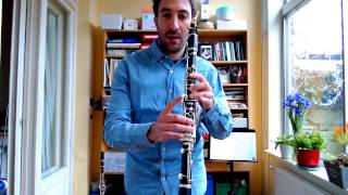 Learn to play a C Blues scale on the clarinet (beginners)