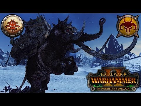 MASTER OF MAMMOTHS - Norsca vs. Beastmen - Total War Warhammer 2