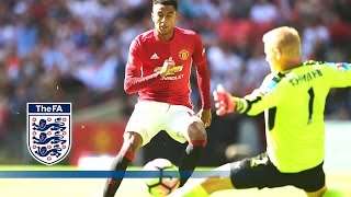 Official  Leicester City 12 Manchester United 2016 Community Shield  Goals & Highlights