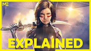 Alita: Battle Angel Movie Explained in 10 Minutes