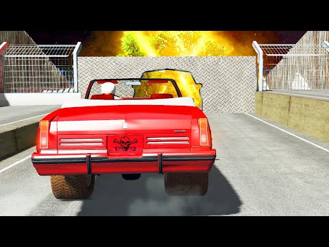 BeamNG Drive - Failed Cars Stunts