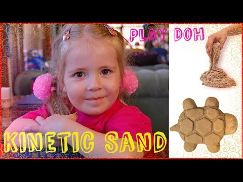 Песок которым можно играть дома