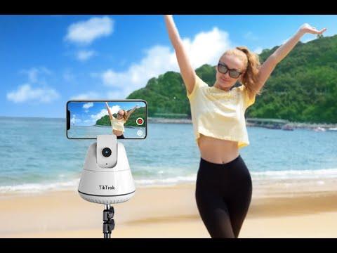 TikTrak- APP Free Selfie Auto Tracking Phone Mount-GadgetAny