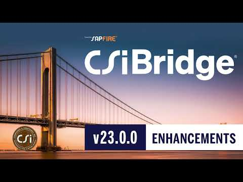 CSiBridge v23.0.0 Enhancements