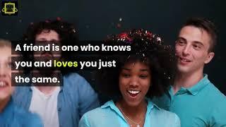 2 Min - Quotes About Friendship Part 1