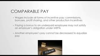 Changes to MA Payroll Laws – recorded 9/20/18