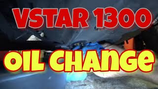 How To Change The Oil In A Vstar 1300 Vlog282