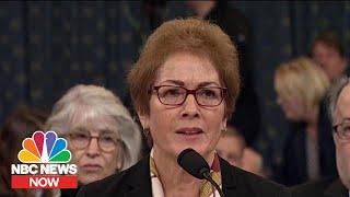 Highlights From Yovanovitch's Impeachment Testimony | NBC News NOW