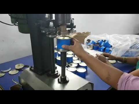 Table Top Can Seaming Machine