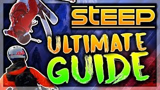 STEEP - ULTIMATE GUIDE TO MASTER ALL SPORTS! (CONTROLLER CAM)