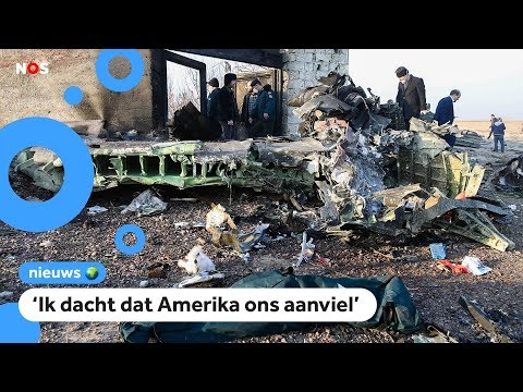 Vliegtuig in Iran neergestort of geschoten?