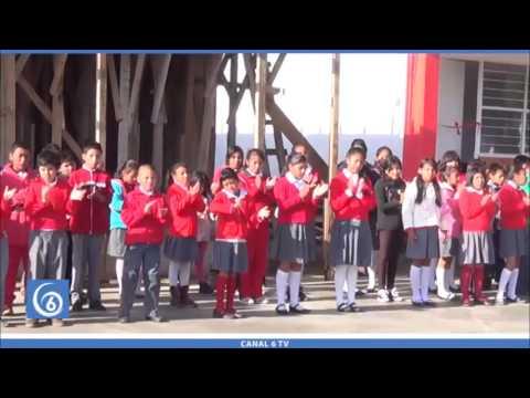 Se inauguran dos aulas en la primaria 2 de octubre de la colonia Julio López Chávez