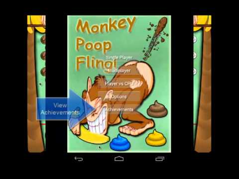 Video of Monkey Poop Fling Multiplayer