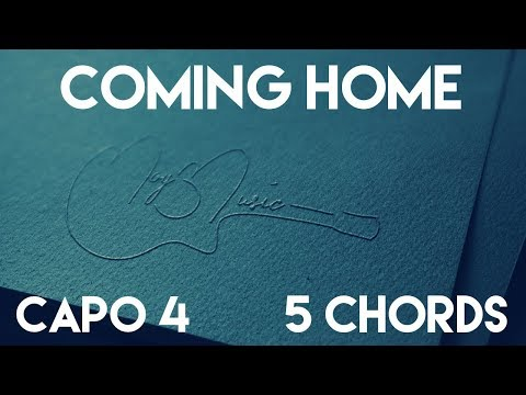 How To Play Coming Home feat. Julia Michaels by Keith Urban | Capo 4 (5 Chords) Guitar Lesson