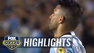 Aguero adds to Argentina's lead vs. Panama | 2016 Copa America Highlights by FOX Soccer