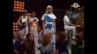 """ABBA on """"The Eddy Go Round Show"""" (The Netherlands, 1975)"""