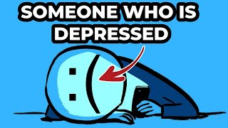 Someone With Depression VS Someone Without Depression