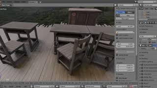 blender2.8 EEVEE test scene(wip)