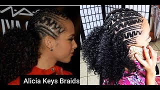 #253. ALICIA KEYS inspired BRAIDS