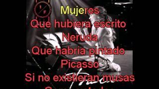 Thalia  Mujeres con letra